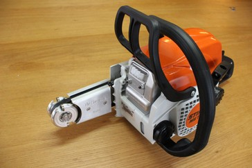 Harrycane mini mit Stihl MS 170 Komplettkit / Ready to Start Kit with a Stihl MS 170 and the Harrycane mini